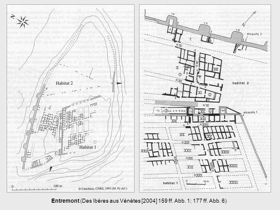Entremont (Des Ibères aus Vénètes [2004] 159 ff. Abb. 1; 177 ff. Abb